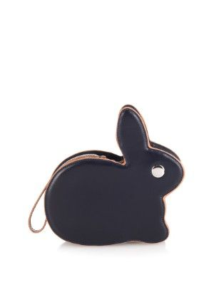 Bunny contrast-piping leather clutch | Hillier Bartley | MATCHESFASHION.COM US
