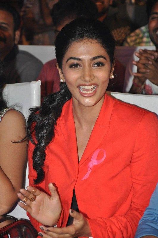 Pooja Hegde Latest Photos at Oka Laila Kosam Audio Success Event
