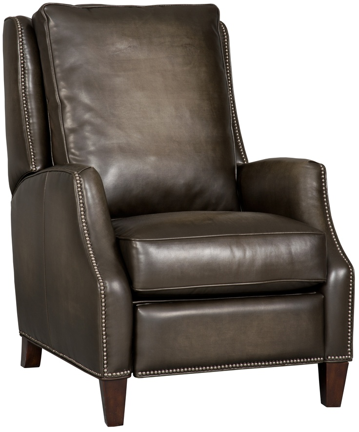 Chandler Dark Brown Leather Recliner With Nailhead Trim  sc 1 st  Pinterest & 23 best Hamiltonu0027s Accent Chairs and Recliners images on Pinterest ... islam-shia.org