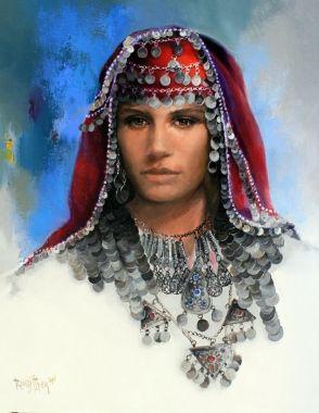 Remzi İren Tablo - Sivas Gelin Başlığı