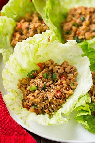 Slow-Cooker Asian-Inspired Chicken Lettuce Wraps | 15 Slow Cooker Recipes That Are Actually Healthy