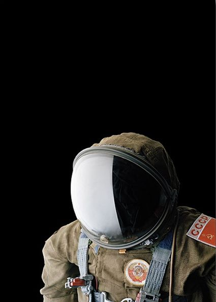 Portraits de combinaisons spatiales par Matthias Schaller portrait combinaison spatiale 03 photographie bonus art