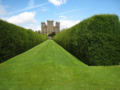 Hardwick Hall, Derbyshire-  Elizabethan Country House built in the 16th century