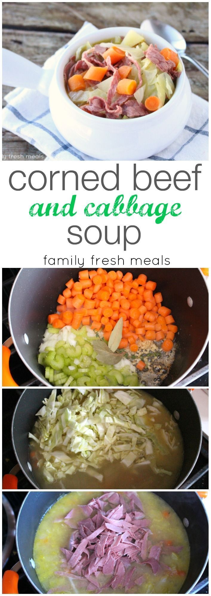 Beef and Cabbage Soup | Recipe | Corned Beef And Cabbage, Cabbage Soup ...