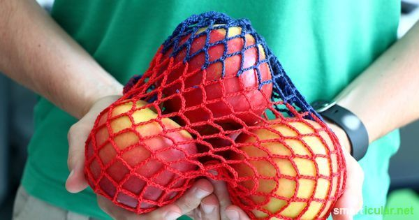 la red comercial de ganchillo - casera alternativa al plástico