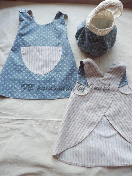 Children's aprons / 12-18 months / 100% cotton - detská šatová zásterka 100% bavlna