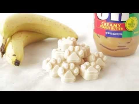 Yogurt Peanut Butter Banana Dog Treats Recipe | Easy Dog Treats