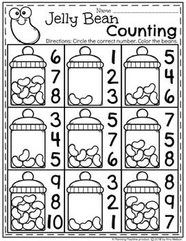 Easter Activities *NEW* Preschool Easter worksheets