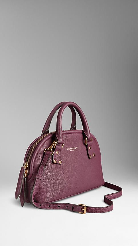 The Small Bloomsbury in Grainy Leather | Burberry