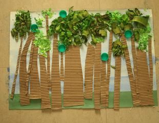 Check out this awesome mixed media project that Himadriover at Mum Paints Lives did for World Environment Day (June 5th) with her little one! Paired with a lesson on appreciating our forests, we...