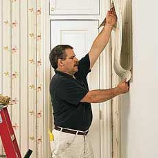 How to hang wallpaper - This Old House
