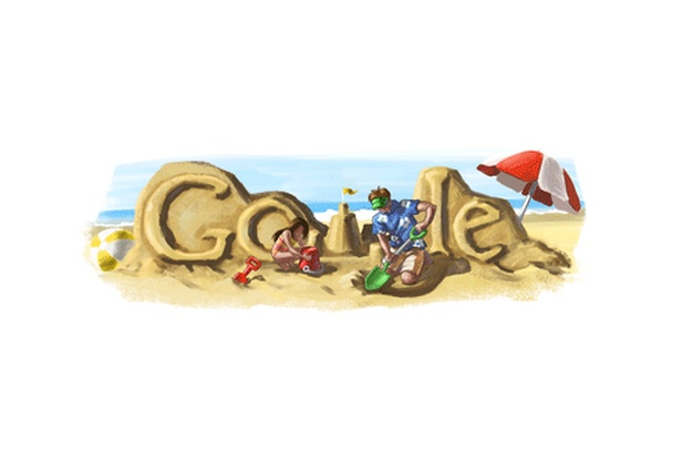 Father's Day Google Doodles