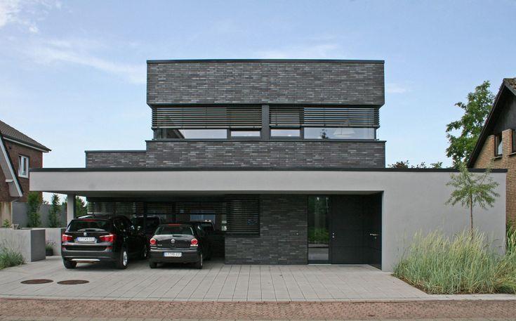 Hagemeister - Klinker - Wohnhaus Emsdetten: Moderne Häuser von Hagemeister