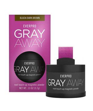 Now you see it, now you don't. This magnetic powder hides roots and sticks to hair until you shampoo. Dab the sponge into the powder, then brush on regrowth. In three shades.