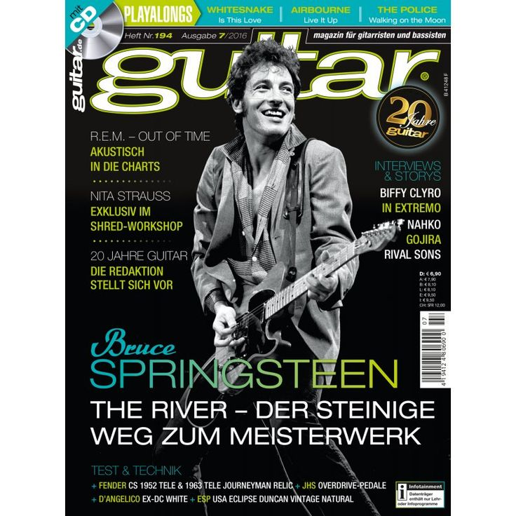 Bruce Springsteen Tour / Nita Strauss Shred Workshop/ guitar 7/16 PPV Medien GmbH, 6,90 €