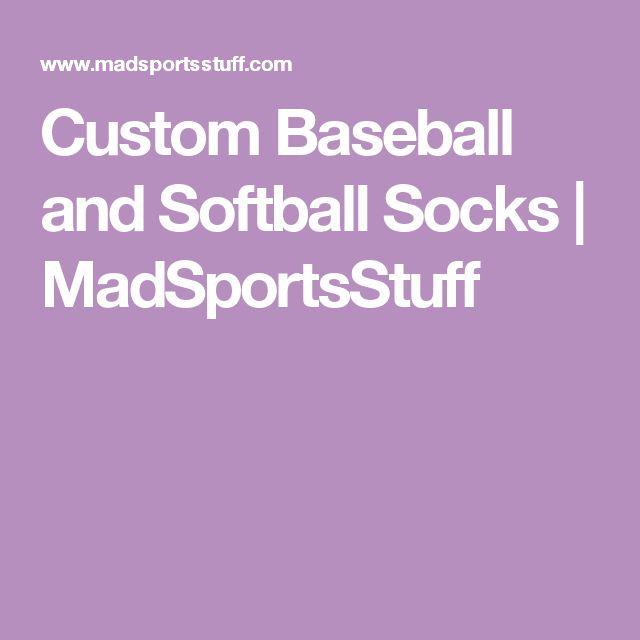 Custom Baseball and Softball Socks | MadSportsStuff