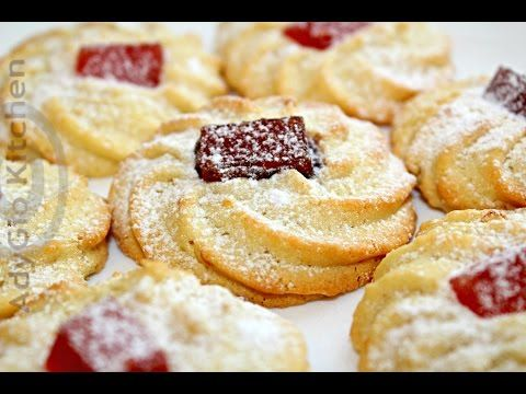 Fursecuri cu rahat | Turkish Delight Cookies - Adygio Kitchen - YouTube