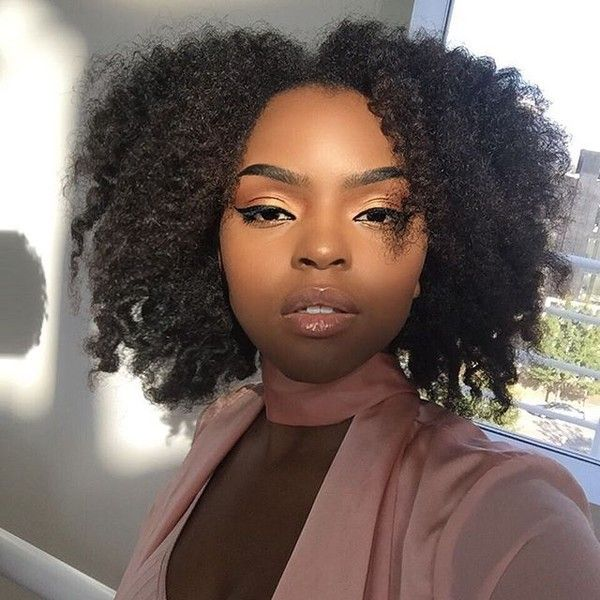 10 Pansy Black Beauty: Loose Natural Hair Inspirations: 10+ Handpicked Ideas To