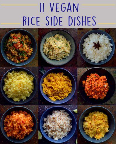 11 Vegan Rice Recipes - Rich Bitch Cooking Blog