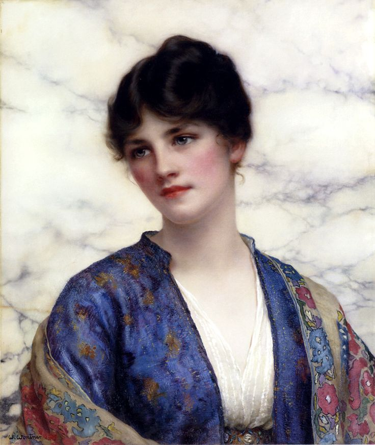 Valeria, William Clarke Wontner : Clarks Wonter, Artistwilliam Clarks, 1857 1930, Valeria, John Williams Godward, Williams Clarks, Clarks Wontner, Paintings, Stole