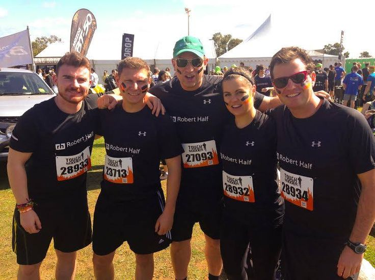 Congratulations to the Robert Half team who tackled the 18km-long Tough Mudder course in Perth. Well done for braving the mud, ice and fire!