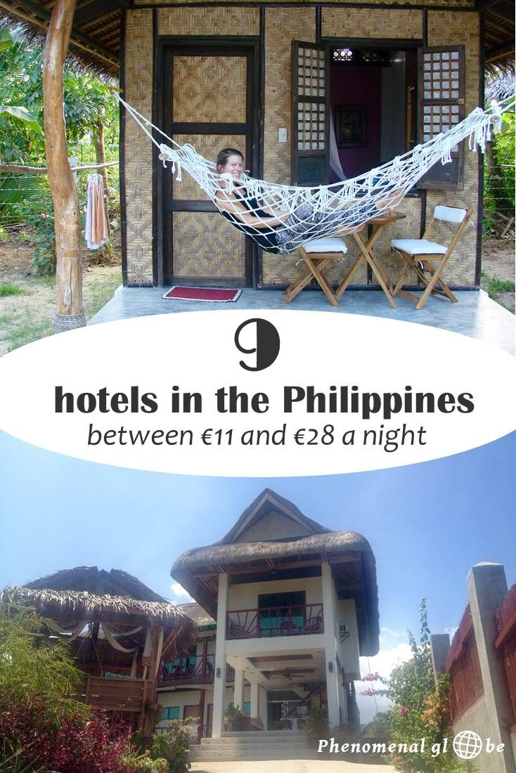 I stayed at some very nice accommodations in Banaue, El Nido and Bohol in the Philippines, with prices ranging between €11 and €28 per night. Want to know which ones I recommend?