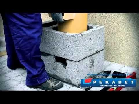 Prezentujemy film instruktażowy budowy kompletnego systemu kominowego UNIWERSAL+ firmy Pekabet.