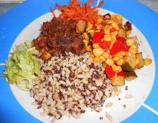 Vegans Eat Yummy Food Too!!!: WIAW - Triple grain breakfast