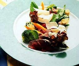 牛ヒレ肉の冷製 野菜畑