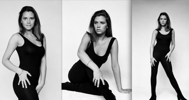 Victoria Beckham age 18 | Victoria Beckham At The Young Age (10 pics) 1992