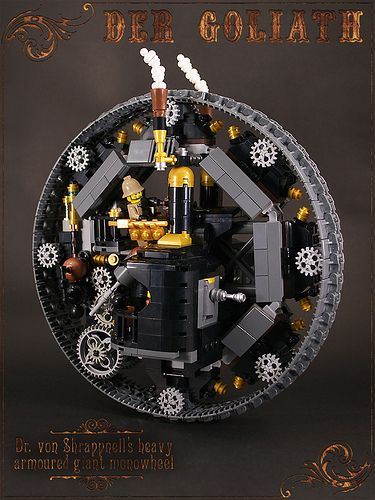 More Lego Steampunk!