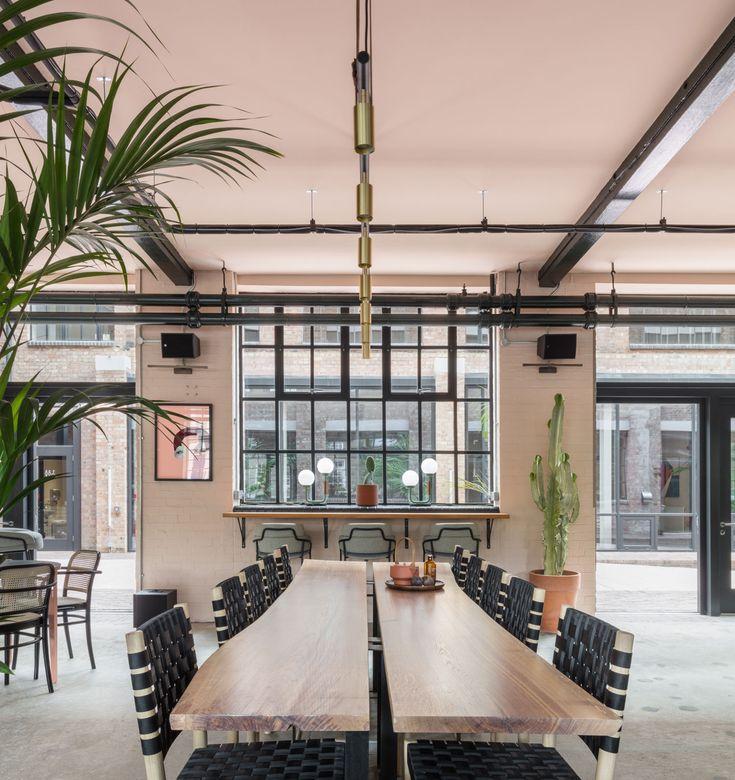 De beauvoir block creative workspaces in london by sella concept interior officeinterior designcafe