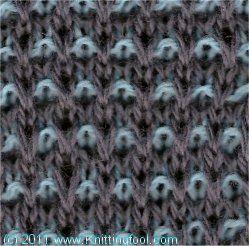 Pin Check 2 - Knittingfool Stitch Detail