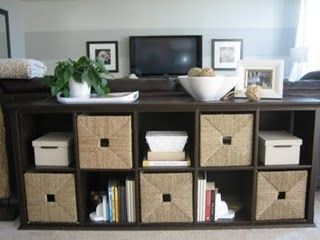 Ikea storage - baskets for kids' toys to store in living room without seeing..