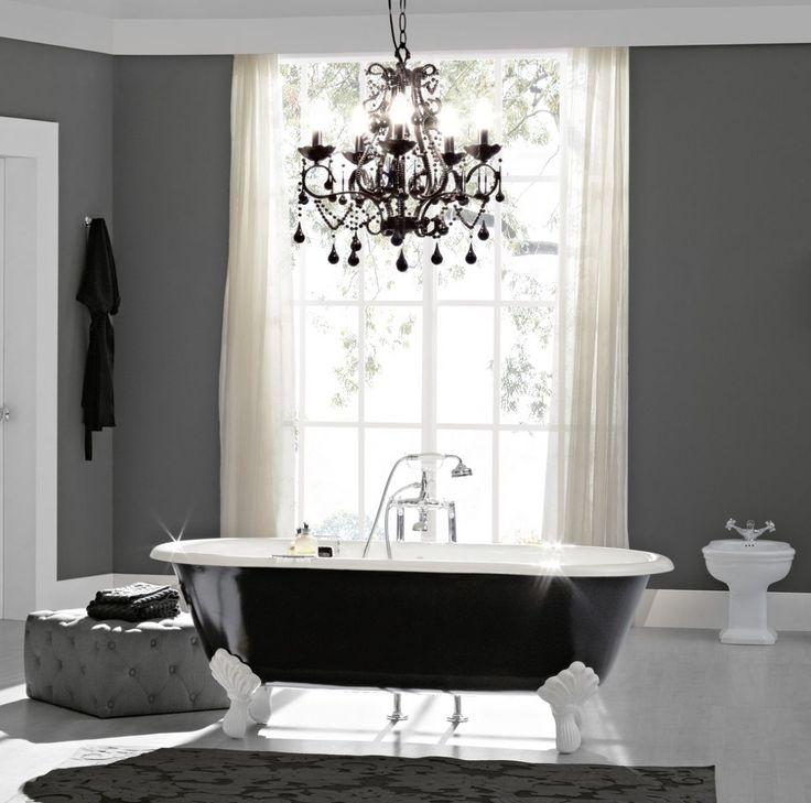 les 25 meilleures id es de la cat gorie baignoire en fonte sur pinterest salle de bains avec. Black Bedroom Furniture Sets. Home Design Ideas