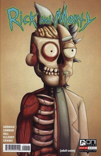 RICK-AND-MORTY-2-Oni-Press-Comics-1-Justin-Roiland-Adult-Swim-3RD-PRINT-VARIANT