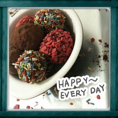 Όρεξη να 'χεις .../Oreksi na 'xeis: Chocolate truffle / Σοκολατένια τρουφάκια