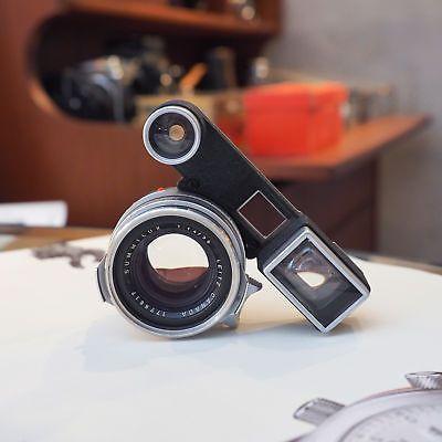 [CLA'd] Leica Leitz Summilux 35mm f/1.4 1st Version Steel Rim w/Goggles for M3
