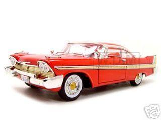 diecastmodelswholesale - 1958 Plymouth Fury Red 1/18 Diecast Model Car by Motormax, $31.99 (http://www.diecastmodelswholesale.com/1958-plymouth-fury-red-1-18-diecast-model-car-by-motormax/)