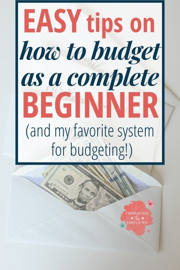 How to organize your finances and bills with a simple budget