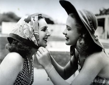 Rosemary and Priscilla Lane