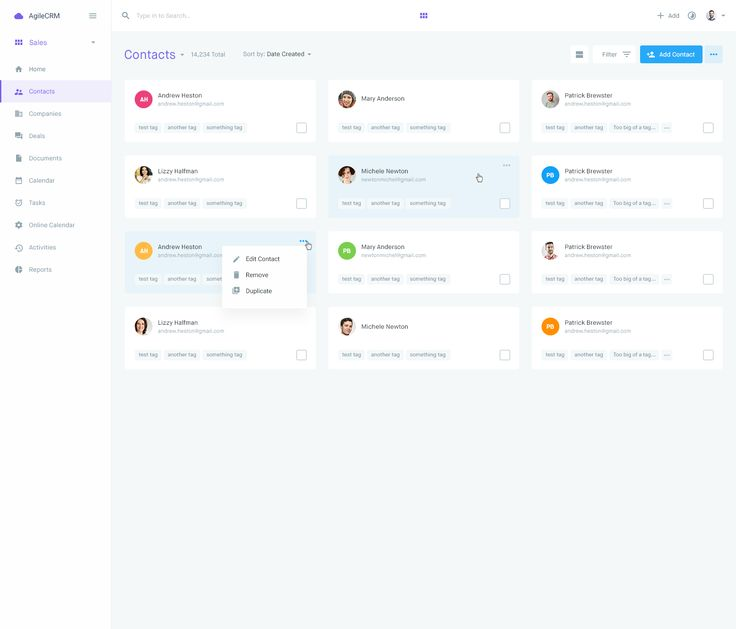 Dribbble - contacts-6-grid-view.png by Balkan Brothers