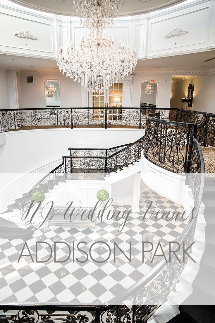 NJ Wedding Venues | Modern NJ Venue | Addison Park
