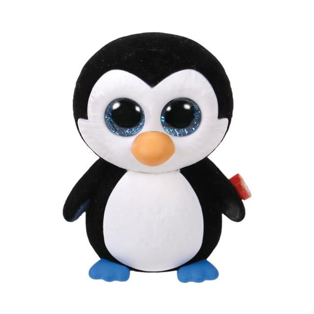 2 inch TY Beanie Boos Mini Boo ICE CUBE Penguin SERIES 2 Collectible Figurine