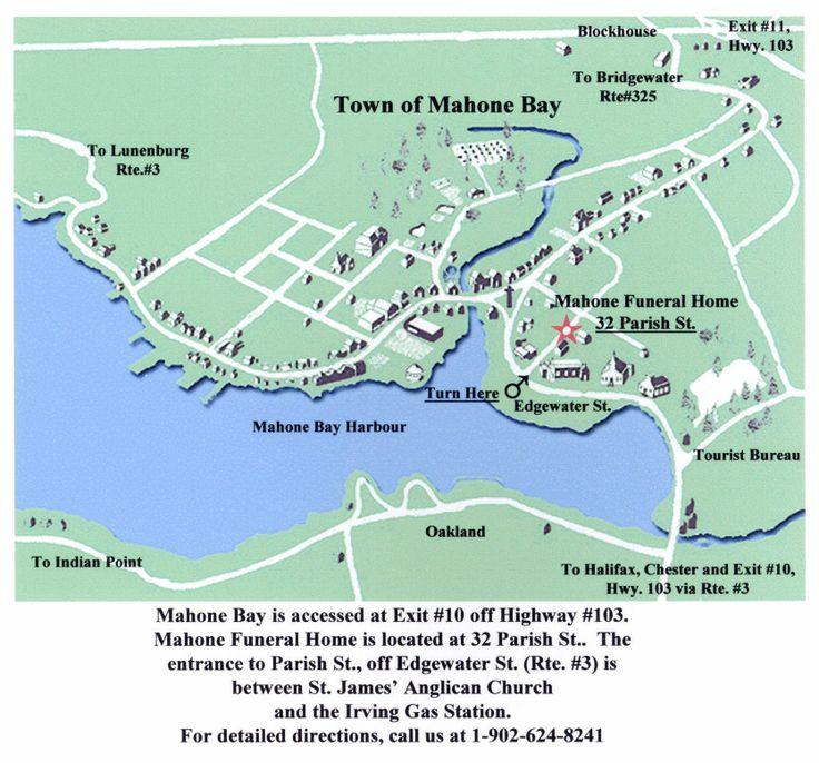 Best Canada East Coast Images On Pinterest Newfoundland - Us navy map mahone bay ns