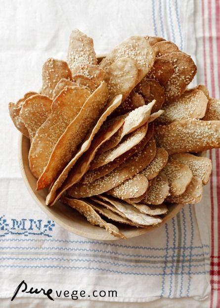 spelt crackers