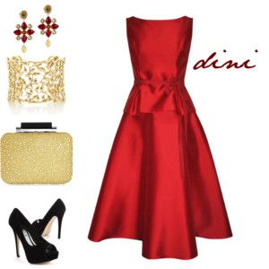 """""""stunning red"""" by dini-ph on Polyvore"""