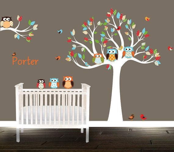 Best Owl Wall Decals Ideas On Pinterest Girl Owl Nursery - Nursery wall decalswall stickers for nurseries rosenberry rooms