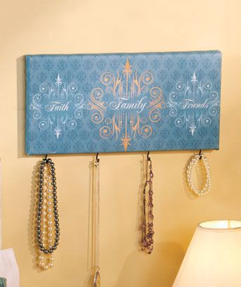 11 best Canvas With Hooks For Keys Or Jewelry images on Pinterest ...