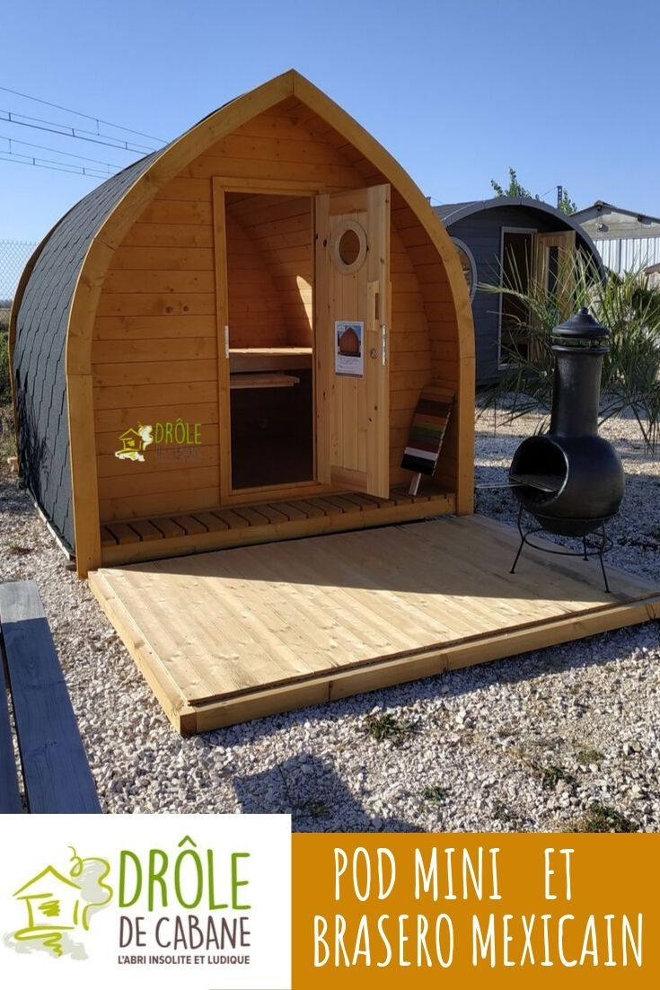 Abri De Jardin Atypique le pod mini, jolie cabane insolite de moins de 5m2 ne